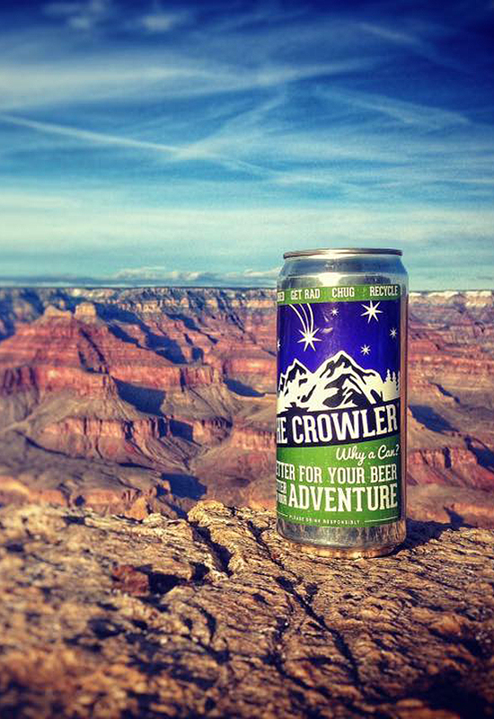 grand canyon growler, dark skys brewery